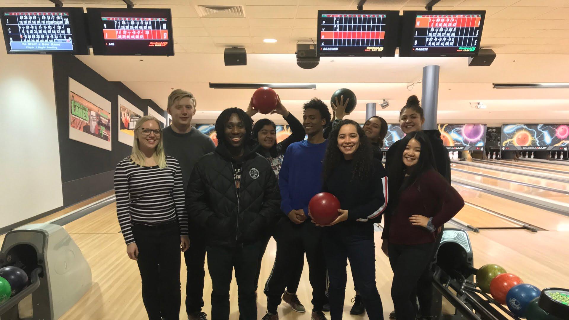 PRSSA bowling