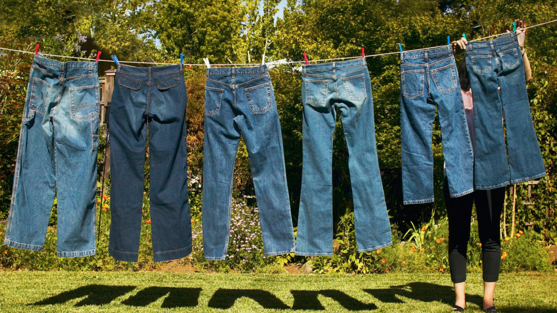 Stop washing your jeans.